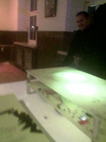 Ina Keckeis, Berlin: Platinenobjekt - Eine Hardwarehommage