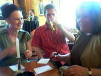 Die Jury: Ute Legner, Tom Wende und Irmgard Baur
